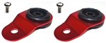 Torque Solution Radiator Mount Combo w/ Inserts (RED) : Mitsubishi Evolution 7/8/9