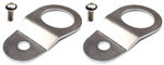 Torque Solution Radiator Mount Combo (Silver) : Mitsubishi Evolution 7/8/9