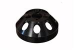 Torque Solution Lightweight Water Pump Pulley (Black): Hyundai Genesis Coupe 3.8 2010+