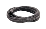 "Torque Solution Nylon Braided Rubber Hose: -10AN 20ft (0.56"" ID)"