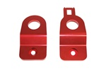 Torque Solution Subaru Radiator Stay Bracket (RED): Subaru Impreza Incl. WRX / STi 2002-2007